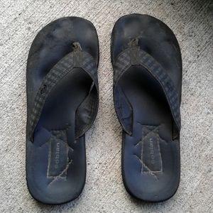 Cobian men's flip flops size 14D